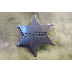 Old West Badges - Sheriff