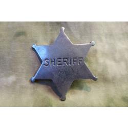 Old West Badges - Sheriff