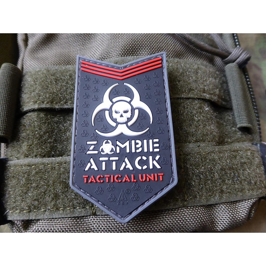 JTG - Zombie Attack Patch, swat / 3D Rubber patch