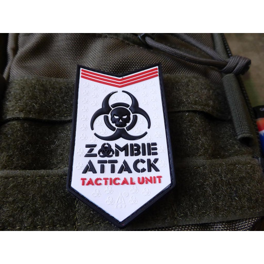 JTG - Zombie Attack Patch, snow / 3D Rubber patch