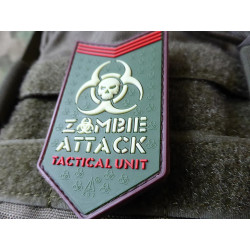 JTG - Zombie Attack Patch, multicam / 3D Rubber patch