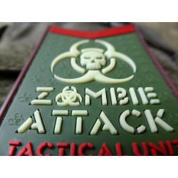 JTG - Zombie Attack Patch, multicam / 3D Rubber patch