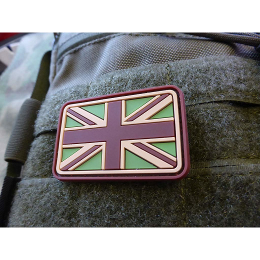 JTG - UK / Great Britain Flag Patch, multicam / 3D Rubber patch