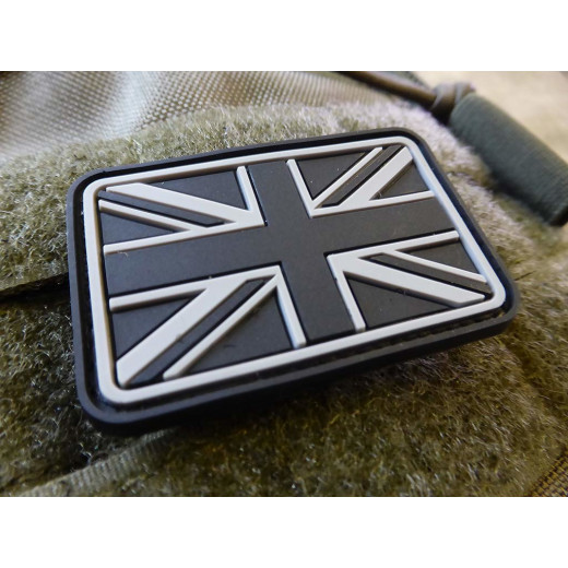 JTG - UK / Great Britain Flag Patch, swat / 3D Rubber patch
