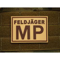 JTG - Feldjäger MP Patch, desert / 3D Rubber patch
