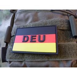 JTG Deutschlandflagge - Patch, groß mit DEU,...