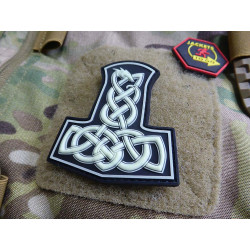 JTG Dragon Thors Hammer Patch, gid (glow in the dark) /...