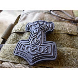 JTG Thors Hammer Mjölnir Patch, blackops  / JTG 3D Rubber...