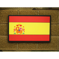 JTG - Spanien Flagge - Patch, fullcolor / 3D Rubber patch