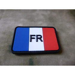 JTG - French Flag Patch, fullcolor / 3D Rubber patch