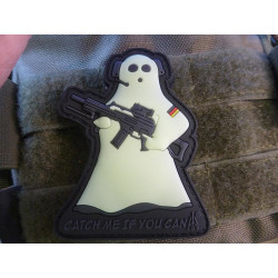 JTG CMIYC Ghost Sniper Patch, gid (glow in the dark) / 3D...