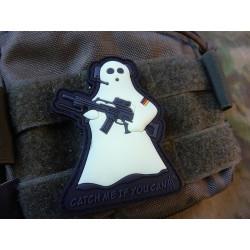 JTG CMIYC Ghost Sniper Patch, gid / JTG 3D Rubber Patch