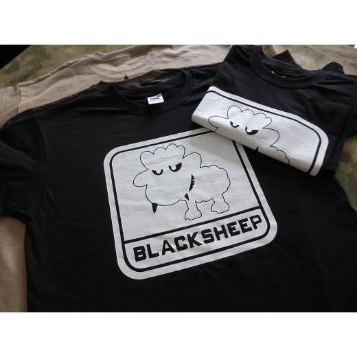 JTG - Little BlackSheep T-Shirt, ghost - Logo nachleuchtend (glow in the dark) - Limited Special Edition