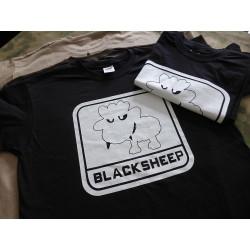 JTG - Little BlackSheep T-Shirt, ghost - Logo gid (glow...