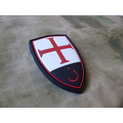 JTG  Crusader Shield Patch, fullcolor / JTG 3D Rubber Patch
