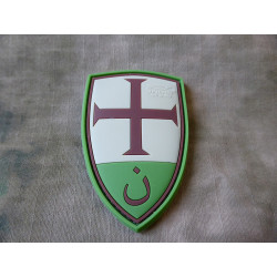 JTG  Crusader Shield Patch, multicam / JTG 3D Rubber Patch