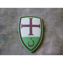 JTG  Crusader Shield Patch, multicam / JTG 3D Rubber Patch