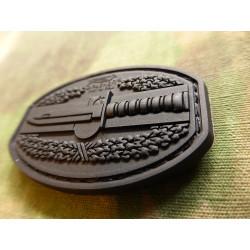 JTG  CombatAction Patch, black / JTG 3D Rubber Patch