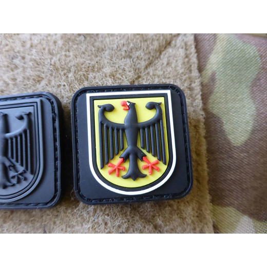 JTG  small BPO Patch, fullcolor / JTG 3D Rubber Patch