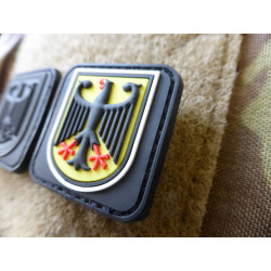 JTG  kleiner BPO Patch, fullcolor / JTG 3D Rubber Patch