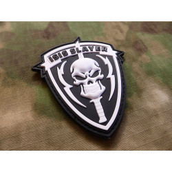 JTG  TribalSkull Patch, fullcolor / JTG 3D Rubber Patch