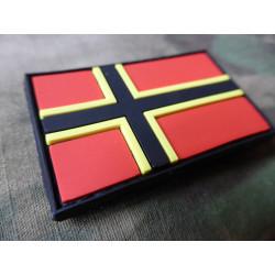 JTG  Wirmer Flaggen Patch / JTG 3D Rubber Patch