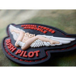 JTG  Bush Pilot Wing Patch, fullcolor / JTG 3D Rubber Patch