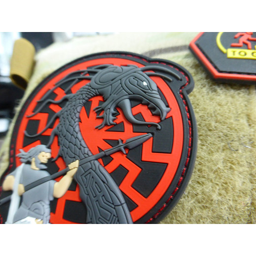 JTG  VIKING RISING Patch, blueshield 2017 Edition / limitiert auf 200 Stück / JTG 3D Rubber Patch
