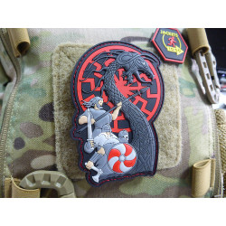 JTG  VIKING RISING Patch, blueshield 2017 Edition /...