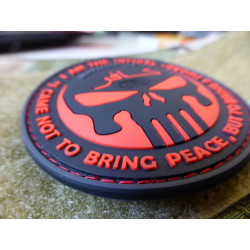 JTG THE INFIDEL PUNISHER Patch, blackmedic / JTG 3D...