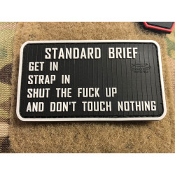JTG  Standard Briefing Patch, fullcolor / JTG 3D Rubber...