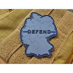 JTG DEFEND GERMANY Patch, Thin Blue Line, special edition...