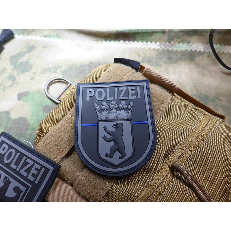 3 D Rubber Patch POLIZEI