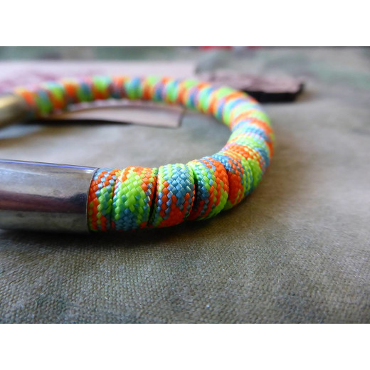 ARMLET Paracord Bracelet, rainbow color, Large 8 inch