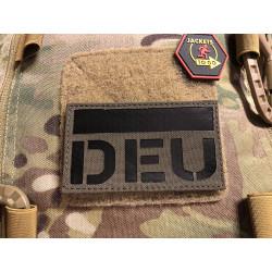 JTG Deutschlandflagge, Ranger Green - IR / Infrarot Patch...