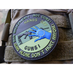 JTG  HANDS OFF MY GUN Deutschland Patch, forest / JTG 3D...