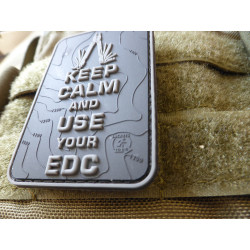 JTG  Keep Calm and use your EDC Patch, blackops / JTG 3D...