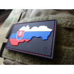 JTG Slovakia Flag Patch special shield edition, fullcolor...