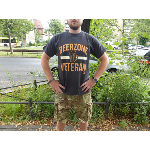 JTG  BEERZONE VETERAN T-Shirt, used black