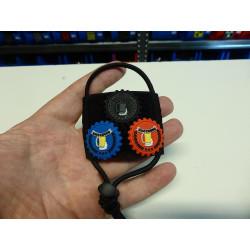 JTG  taktische BierflaschenAdminPatchfläche, schwarz bzw. nachtschwarz