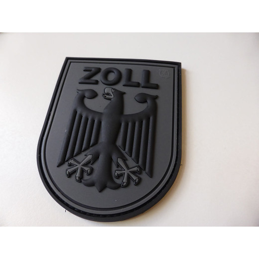 JTG  ZOLL Functional Badge Patch, blackops / JTG 3D Rubber Patch