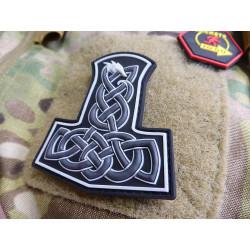 JTG Dragon Thors Hammer Patch, swat  / JTG 3D Rubber Patch