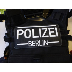 JTG Back Plate / Functional Badge Patch - Polizei Berlin,...