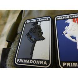 JTG  MAJOR LEAGUE PRIMADONNA Patch, swat / JTG 3D Rubber Patch