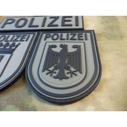 JTG Ärmelabzeichen  Bundespolizei, steingrau-oliv /...