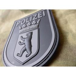JTG Ärmelabzeichen Polizei Berlin Patch, blackops /...