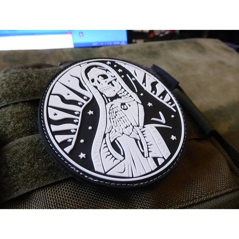 Jtg Santa Muerte Patch Swat Jtg 3d Rubber Patch Jackets To Go
