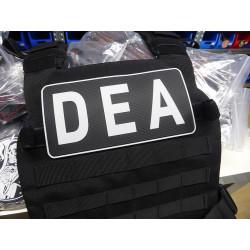 JTG Backplate DEA / Drug Enforcement Agency Patch, swat /...