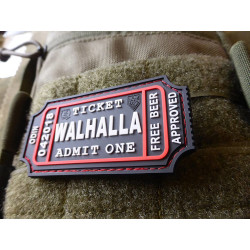 JTG WALHALLA TICKET - Odin approved Patch, swat / JTG 3D...