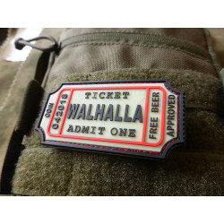 JTG WALHALLA TICKET - Odin approved Patch, gid / JTG 3D...